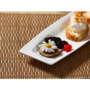 特価商品 長皿  14号  白い 軽い シンプル おしゃれ 強化磁器 レンジOK 業務用 nishida-store