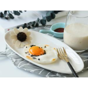 楕円皿 白磁 おしゃれ 10号 浅め  オーバルプレート カレー皿 パスタ皿 カフェ レンジOK 女性 子ども|nishida-store