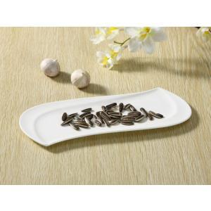 長皿 さんま皿  10号 波型  オードブル皿 白磁 おしゃれ レンジOK 軽い 大きい カフェ シンプル|nishida-store