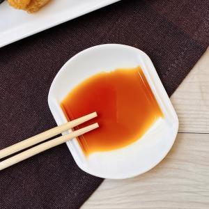 小皿 白磁 おしゃれ  8.2cm  醤油皿 豆皿 楕円 オーバル 軽い レンジOK 無地|nishida-store