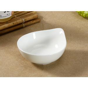 醤油皿 片口小皿 5号  小鉢 ボウル 白い 無地 シンプル おしゃれ 強化磁器 割れにくい 北欧風 オリジナル nishida-store