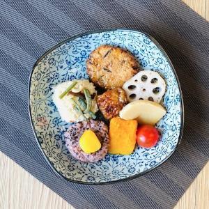 取り皿  8号 赤いコスモス  取り鉢 煮物 軽い シンプル 花柄 割れにくい 大きい プレート 和食 業務用 nishida-store
