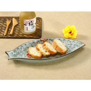 魚形の皿  赤い椿  プレート 大きい 割れにくい 軽い レンジOK 花柄 カラバリ おしゃれ 長皿 オリジナル|nishida-store