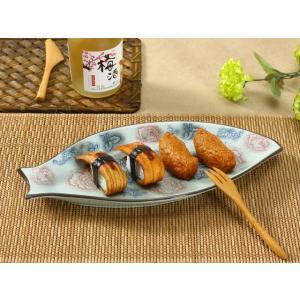 魚形の皿  赤い大輪薔薇  プレート 大きい 割れにくい 軽い レンジOK 花柄 カラバリ おしゃれ 和柄|nishida-store