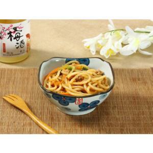 正角 和食器 小鉢  4.5号 青い四つ葉  和食器 小鉢 取り鉢  こども 花柄 野菜 割れにくい 業務用 カラバリ 軽い スタック|nishida-store