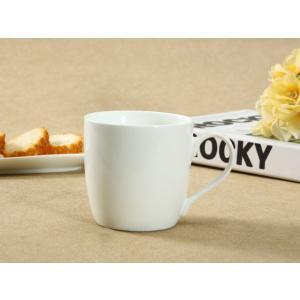 マグカップ 白磁 おしゃれ 340ml レンジOK 大きい 強化磁器 コーヒー カフェ 無地 シンプル|nishida-store