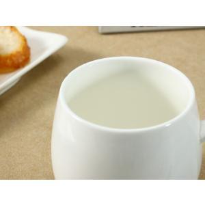 マグカップ 白磁 おしゃれ 400ml レンジ...の詳細画像3