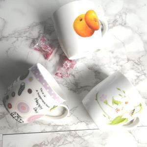 特価商品 マグカップ 白磁 おしゃれ  340ml  レンジOK 軽い シンプル かわいい 大きい コップ コーヒー カフェ|nishida-store