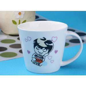 特価商品 マグカップ 広口370ml 男の子 コップ 大きい 保温 割れにくい 強化磁器 業務用 大容量 こぼれない 白い 軽い シンプル おしゃれ|nishida-store