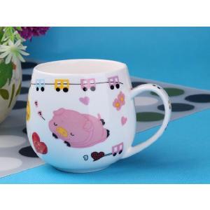 マグカップ 400ml  コップ 白い おしゃれ シンプル かわいい 大きい 保温 割れにくい 強化磁器 業務用 大容量 こぼれない カフェオレ|nishida-store