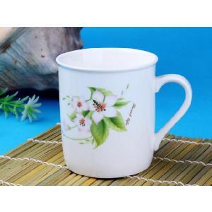 マグカップ 290ml   円筒形 白い おしゃれ シンプル かわいい 大きい 保温 割れにくい 強化磁器 業務用 大容量 こぼれない カフェオレ|nishida-store