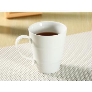 マグカップ 白磁 おしゃれ  330ml 竹筒形  大きい レンジOK 軽い 子ども アウトレット 訳あり|nishida-store