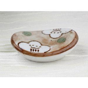 一人2個まで限定 箸置き 浮雲枕形   丈夫 カラトリーレスト フォーク スプーン 箸 シンプル おしゃれ 軽い 陶磁器|nishida-store