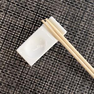 箸置き おしゃれ かわいい  7.4cm  カトラリーレスト スプーン置き 白磁 小さい 無地 シンプル|nishida-store