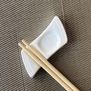 箸置き かわいい おしゃれ シンプル 白い カトラリーレスト 強化磁器 軽い 食洗機対応 ポイント消費|nishida-store