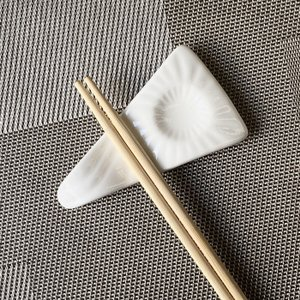 箸置き おしゃれ かわいい  10cm  カトラリーレスト スプーン置き 白磁 小さい 無地 シンプル カフェ|nishida-store
