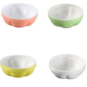 ペット食器 ゼリー型  陶磁器 軽い 白磁 無地 おしゃれ フードボウル 強化磁器 レンジOK スクエア|nishida-store