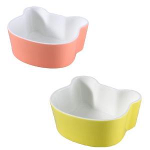ペット用食器 パンダ形  軽い 白磁 無地 おしゃれ フードボウル 強化磁器 レンジOK 丸い|nishida-store
