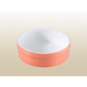 ペット用食器 厚縁 丸形  陶磁器 軽い 白磁 無地 おしゃれ フードボウル 強化磁器 レンジOK 丸い|nishida-store