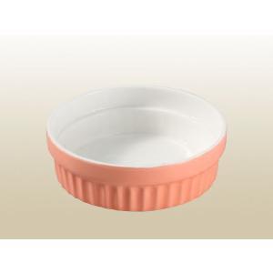 ペット用食器 スフレ風 370ml  軽い 白磁 無地 おしゃれ フードボウル 強化磁器 レンジOK 小さい nishida-store