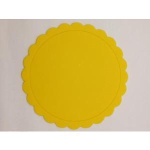 テーブルを華やかに演出する シリコン製太陽型コースター 黄色|nishida-store