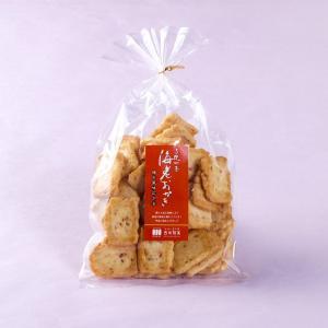 【海老おかき】ひとくち巾着 ミニ(150g入り)|nishidaseika-store