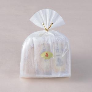 【豆おかき・海老おかき】寿巾着袋|nishidaseika-store