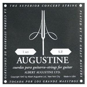 オーガスチン ブラック 黒ラベル セット クラシックギター弦 AUGUSTINE BLACK ポイント消化 送料無料|nishigaku