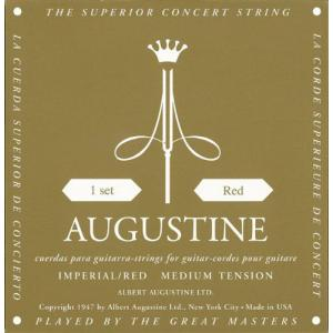 AUGUSTINE IMPERIAL RED 1セット オーガスチン インペリアル レッド セット クラシックギター弦 ポイント消化 送料無料|nishigaku