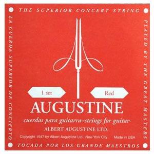 オーガスチン レッド 赤ラベル セット クラシックギター弦 AUGUSTINE RED ポイント消化 送料無料|nishigaku