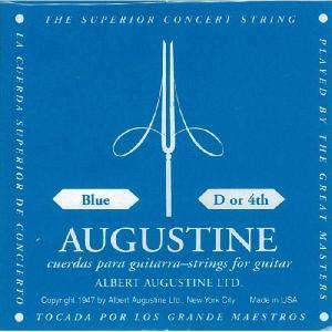 オーガスチン ブルー 青 バラ売り 4弦 (1本のみ) ポイント消化 送料無料|nishigaku