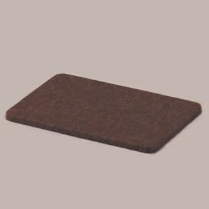 オプションボード ダークブラウン (フラットボードをお使いのときに補助ペダルの高さをあわすオプションボードです)|nishigaku