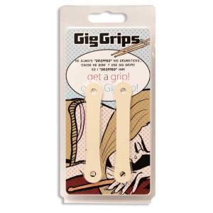 GigGrips(ギググリップス) アイボリー /ドラムスティックグリップ ドラムスティックをホールドするアイテム|nishigaku
