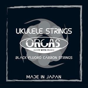 ORCAS フロロカーボン ウクレレ弦セット ソプラノウクレレ用 コンサートサイズ ライトゲージ(0...