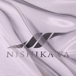 生地 ストール、子供、ドレス、発表会衣装 マイクロオーガンジー 色番号25 グレー|nishikawa-tex1211