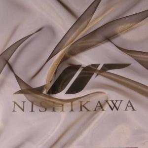 生地 ストール、子供、ドレス、発表会衣装 マイクロオーガンジー 色番号26 メタルグリーン|nishikawa-tex1211