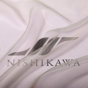 生地 ストール、子供、ドレス、発表会衣装 マイクロオーガンジー 色番号90 グリーンベージュ|nishikawa-tex1211
