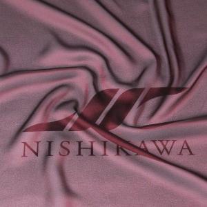 生地 カジュアルからフォーマルまで シャンブレー梨地ジョーゼット 色番号18 シャンブレーワイン|nishikawa-tex1211