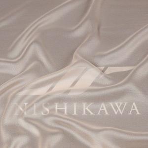 生地 カジュアルからフォーマルまで シャンブレー梨地ジョーゼット 色番号2 シャンパン|nishikawa-tex1211