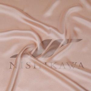 生地 カジュアルからフォーマルまで シャンブレー梨地ジョーゼット 色番号7 ベージュ|nishikawa-tex1211