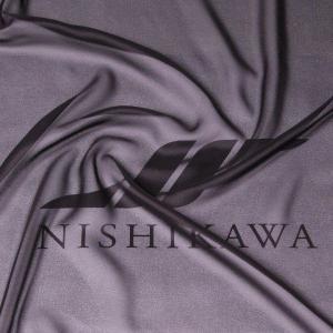 生地 カジュアルからフォーマルまで シャンブレー梨地ジョーゼット 色番号FBK ブラック|nishikawa-tex1211