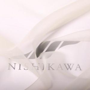 生地 装飾、ウエディング ラッピング オーガンジー140巾 色番号115 クリーム|nishikawa-tex1211