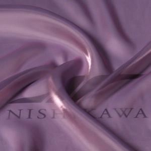 生地 ワンピース、ドレス素材 カチオンステンレスサテン 色番号105 シャンブレーパープル|nishikawa-tex1211