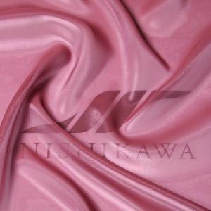 生地 ワンピース、ドレス素材 カチオンステンレスサテン 色番号120 グレイッシュピンク|nishikawa-tex1211