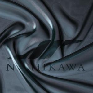 生地 ワンピース、ドレス素材 カチオンステンレスサテン 色番号129 ダークブルーグリーン|nishikawa-tex1211