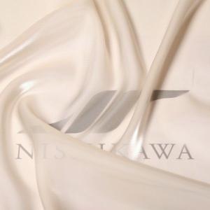 生地 ワンピース、ドレス素材 カチオンステンレスサテン 色番号16 ライトベージュ|nishikawa-tex1211