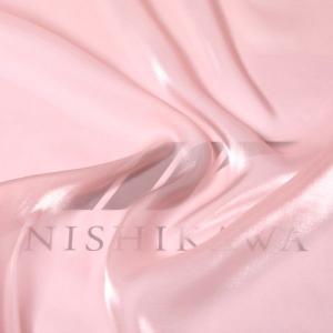 生地 ワンピース、ドレス素材 カチオンステンレスサテン 色番号17 ライトコーラル|nishikawa-tex1211