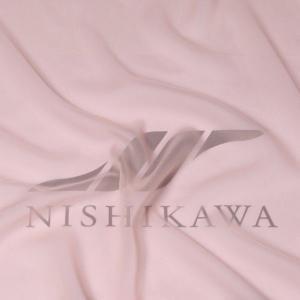 生地 ワンピース、フォーマルドレス ロイヤルシフォンジョーゼット 色番号22 ピンクベージュ|nishikawa-tex1211