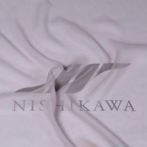 生地 ワンピース、フォーマルドレス ロイヤルシフォンジョーゼット 色番号23 グレー|nishikawa-tex1211