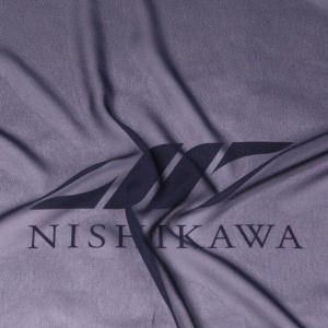 生地 ワンピース、フォーマルドレス ロイヤルシフォンジョーゼット 色番号346 ネイビー|nishikawa-tex1211